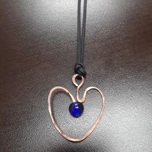 Handmade Heart Necklace NWOT